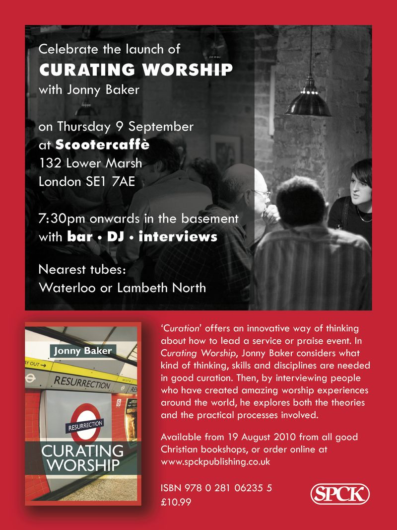 Curating worship (dig flyer)