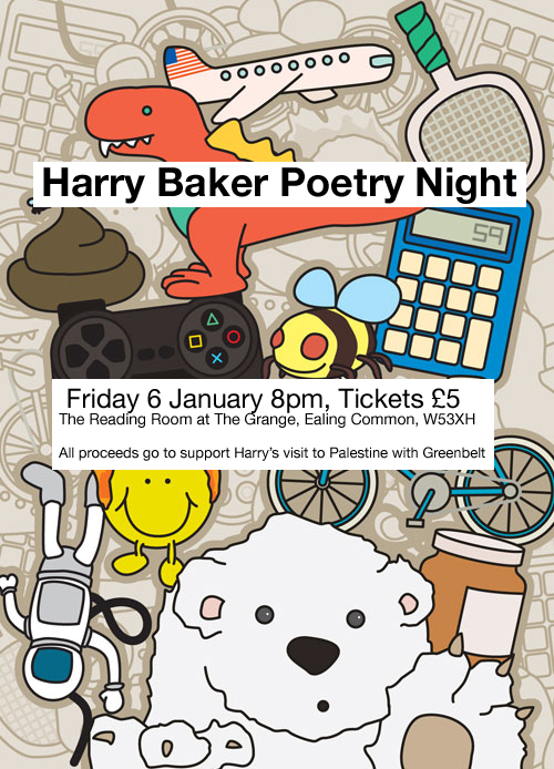 Harrybakerpoetrynight