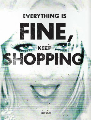 Everythingisfinekeepshopping