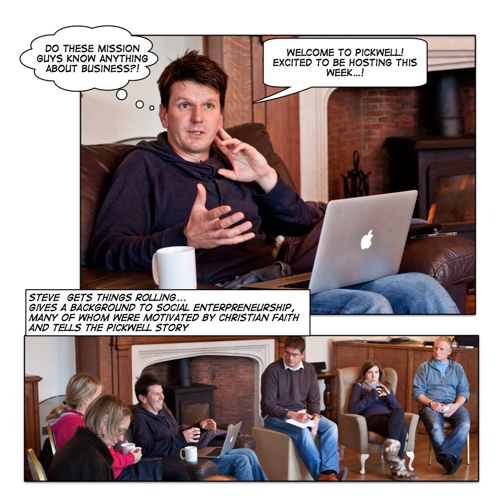 mission entrepreneurship comic story